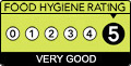 Food Standards Agency rating for Bridgetown Store